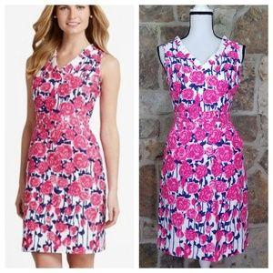 Vineyard Vines 2 Kentucky Derby Rose Print Dress